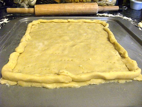 pastry uncooked